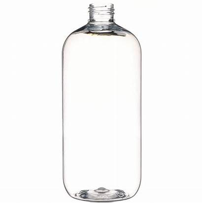 Neck Bottle Clear Plastic Boston Oz Finish