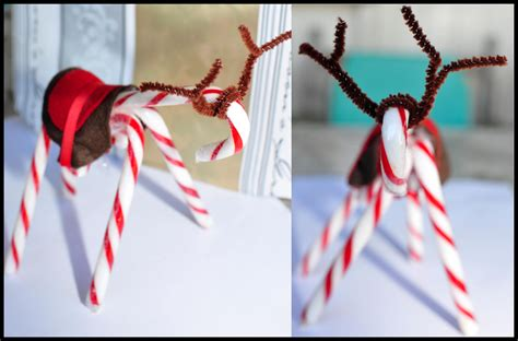 candy cane reindeer craft be a fun mum