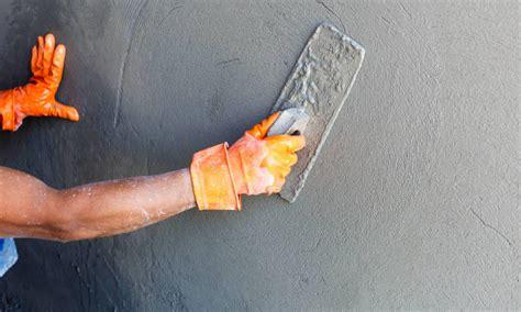 tadelakt cuisine faire un béton ciré sur du carrelage sol et mural