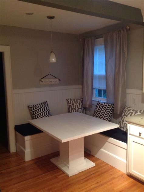 Diy Kitchen Nook Ideas by How To Make A Custom Breakfast Seating Nook Snapguide