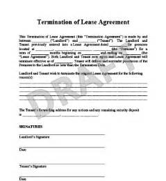 how to write a termination letter of lease