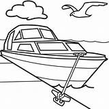 Boat Coloring Pages sketch template