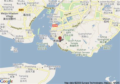 google map china xiamen yahhoozmapsus
