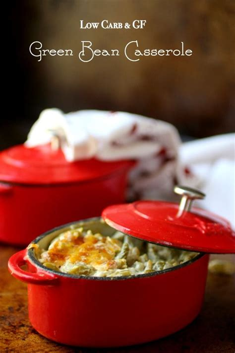 carb green bean casserole recipe lowcarb ology