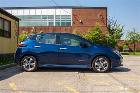 2019 Nissan Leaf Review by 2019 Nissan Leaf Sl Review Doubleclutch Ca