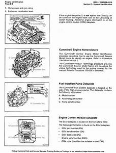 Cummins Engine Qsg12 Cm2350 G110 Service Manual Pdf Volume