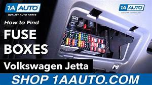 How To Find Fuses 11-18 Volkswagen Jetta