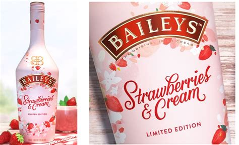 baileys strawberries cream liqueur   spring