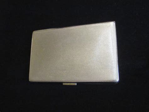 1940s Cigarette Case Ontario Canada Map Har-bro England Business Card With Quote Holder Wall Rack Abbyy Reader Review Which App Is Best Visiting Of Photo Studio How Works Photoshop Sametime Not Showing