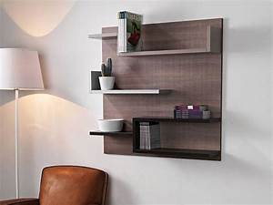Etagere Salon Design : 1001 id es tag res murales 77 mod les qui vont vous accrocher ~ Teatrodelosmanantiales.com Idées de Décoration