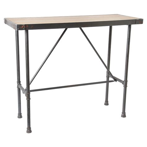wrought iron pub table new special antique pine coffee tables wrought iron high