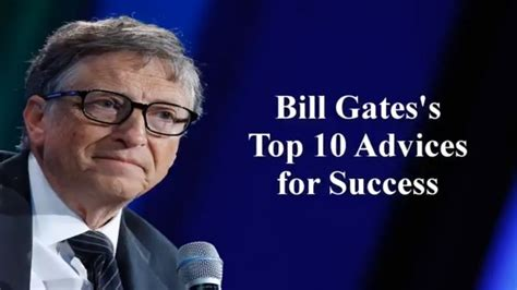 Bill Gates Rules of Success | Bill Gates Quotes ...