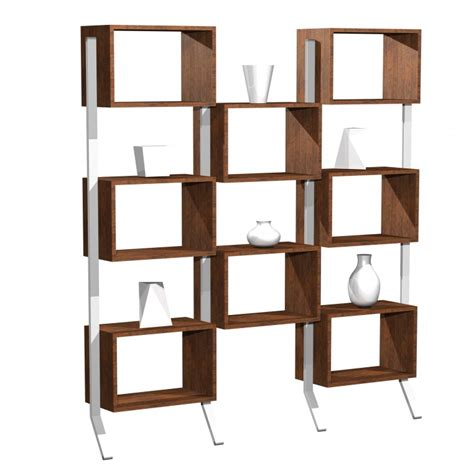 Zigzag Bookcase by Modern Wall Shelving Unit Showcasing Pinewood Materials In