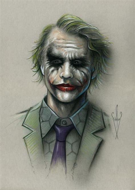joker pencil airbrush drawing     artwork