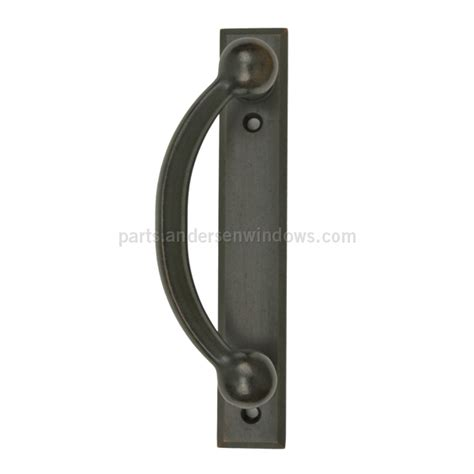 andersen 174 gliding patio door handle distressed bronze