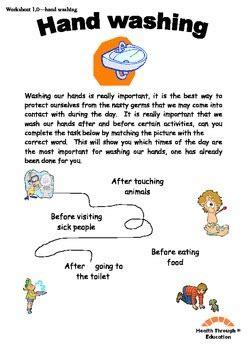 fun reading  writing worksheets hand washing themed tpt