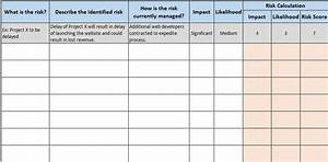Risk Register Template Excel Free Download Free Financial Templates In Excel