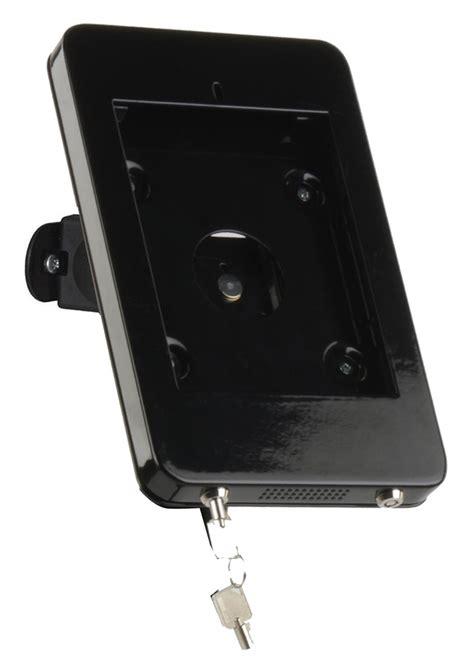 ipad mini wall mount black powder coated aluminum
