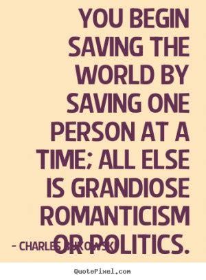 quotes  saving  world quotesgram