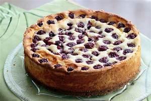 Kirsch Käsekuchen Cherry cheesecake Maras Wunderland