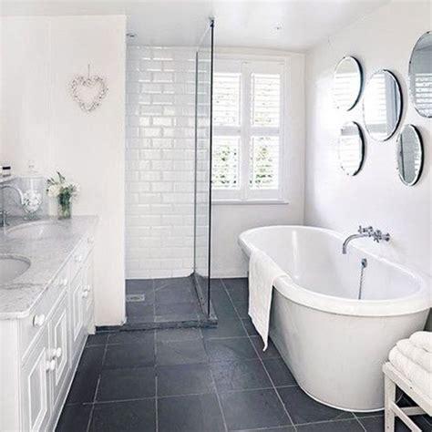 Bathroom Grey Floor Tiles by 39 Grey Bathroom Floor Tiles Ideas And Pictures