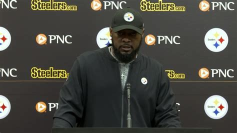 Pittsburgh Steelers head coach Mike Tomlin: I'm not going ...