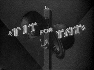 Tit for Tat (film) - Wikipedia