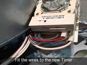 How To Replace A Timer On A Tumble Dryer  Ariston  Creda