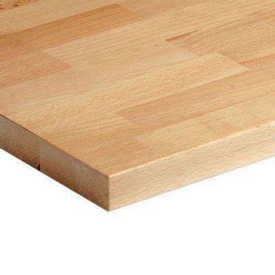 plan de travail cuisine largeur 100 cm plan de travail hêtre brut massif 200 x 65 cm ép 26 mm