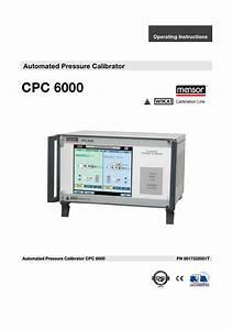 Wika Cpc6000 User Manual