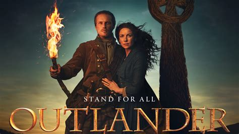 Filming for season five commenced on april 8, 2019 and wrapped on november 21, 2019. Claire stands for family in Outlander Season 5 promo poster