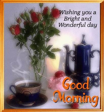 Morning Wonderful Bright Ka 123greetings Greetings Greeting