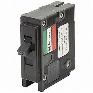 30 Amp 1 Pole Circuit Breaker Qphw1030 Black