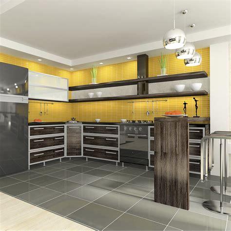 deco cuisine gris et noir deco cuisine gris et jaune