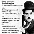 3 Best statements By Charlie Chaplin Inspirational Pics