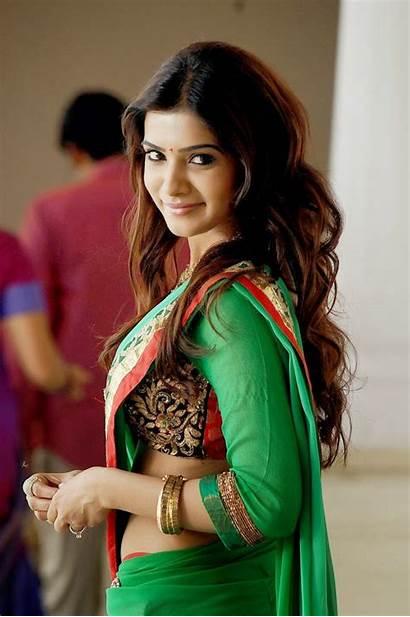 Samantha Saree Actress Ruth Prabhu Stills Kaththi