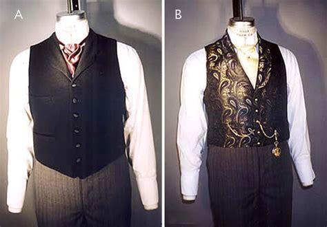 Men's Western-victorian Frock Coat & Vest Pattern 34-58
