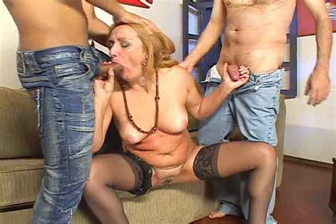 Blonde Cougar Slut Pegy Matteo Having Fun With Mature