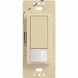 Lutron Maestro Sensor Switch  2a  No Neutral Required