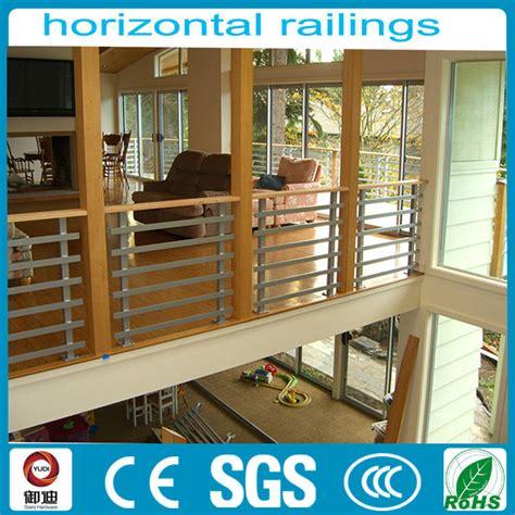 modern indoor used balcony horizontal wrought iron