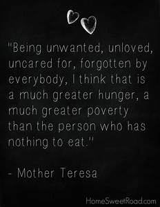 Mother Teresa Quotes Homeless. QuotesGram