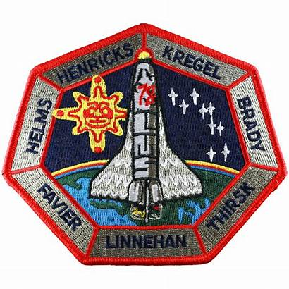 Sts Space Patch Patches Shuttle Crew Variations