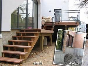 ordinaire fabriquer un escalier exterieur en bois 2 et With fabriquer escalier exterieur bois