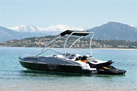 Jet Ski With Boat by Sealver Wave Boat 525 Aquatic Aviation