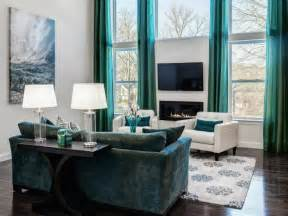 2015 summer trend living room furniture in turquoise