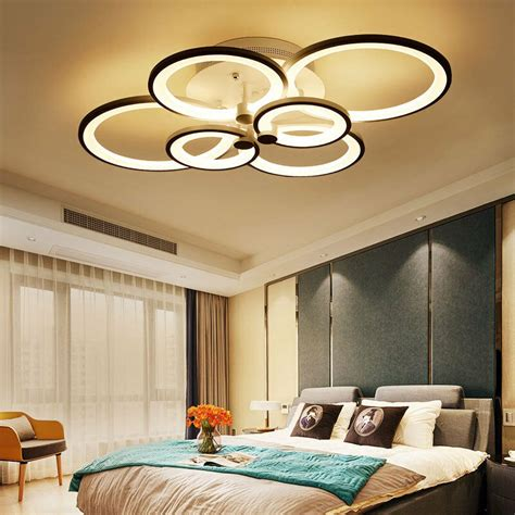 lights for bedrooms ceiling new modern bedroom remote control living room acrylic 4 8 15890 | s l1000