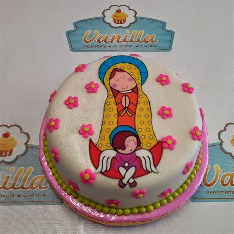 Torta virgen de Guadalupe Vanilla Repostería