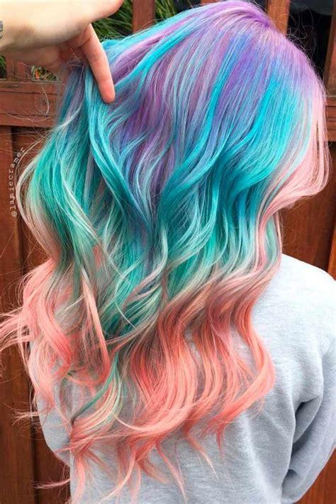 multi color hair dye multi colored hairstyles hair