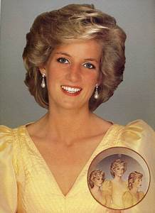 Artist John Merton painter of the 'Princess Diana Triple ...