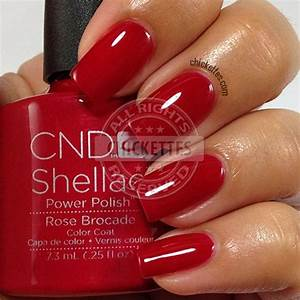 Cnd Shellac Colour Chart Cnd Shellac Modern Folklore Collection Rose Brocade